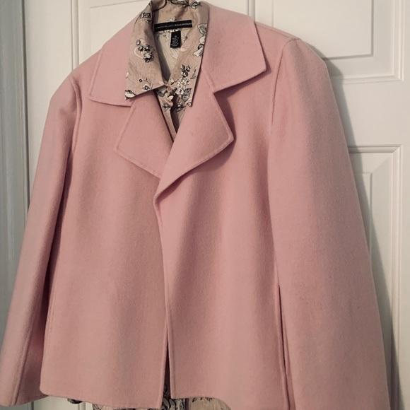 Ellen Tracy Jackets & Blazers - Ellen Tracy Boiled Wool Jacket and silk blouse
